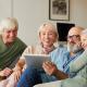 Tablette facile pour seniors